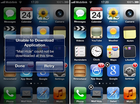 hide stock iOS apps (2)