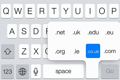 ios 7 keyboard entensions