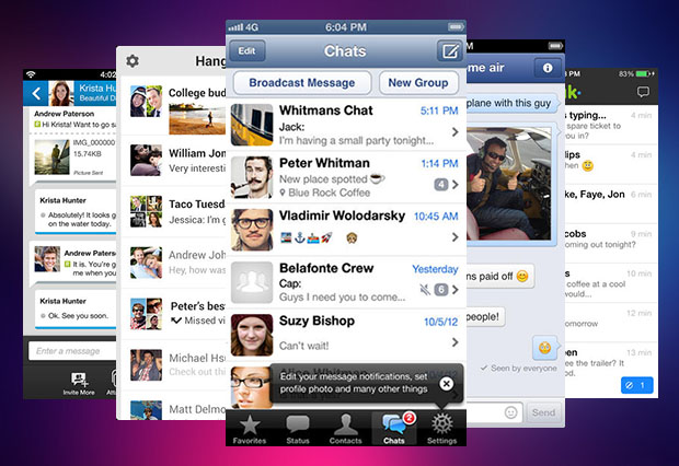 Best messaging apps iOSHacker