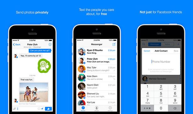 Facebook Messenger iOS 7