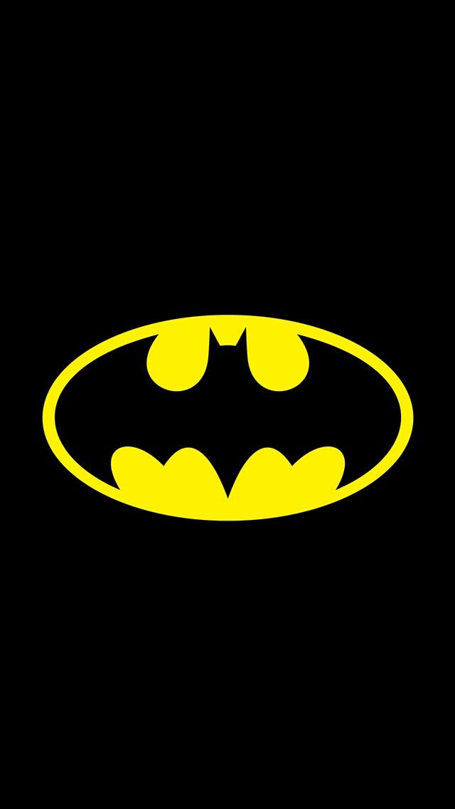 batman wallpaper iPhone 5s simple logo