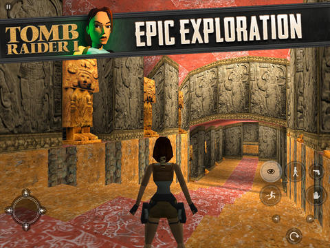 Original Tomb Raider I Game From 1996 Comes To Iphone And Ipad