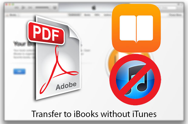 Without iTunes iBooks transfer