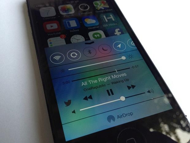 Control Center iOS 7 jailbreak
