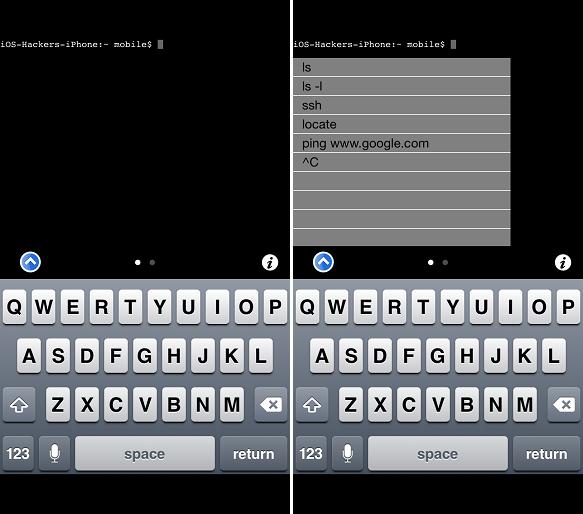 Mobile Terminal Cydia