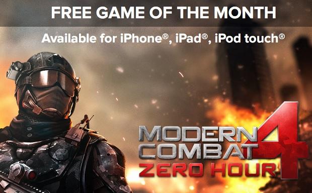 Modern Combat 4 free game