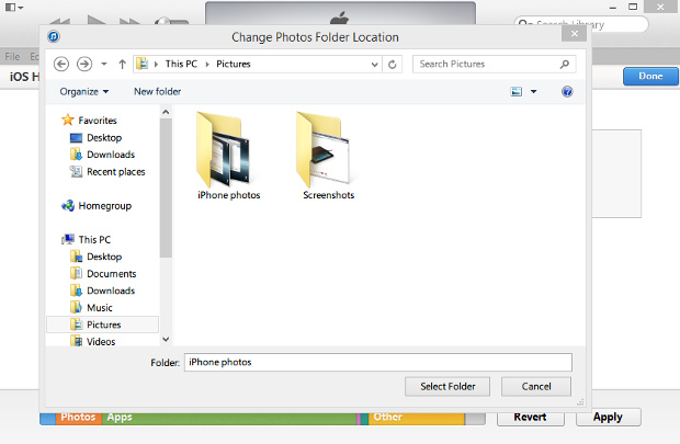 how to delete synced photos from computer to ipod