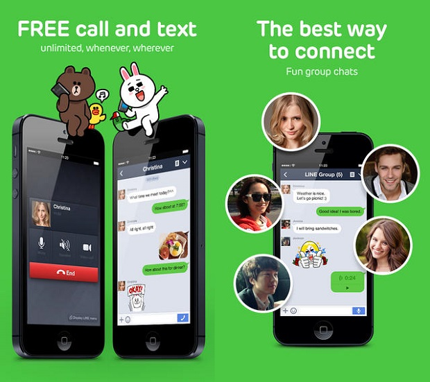Line app iPhone