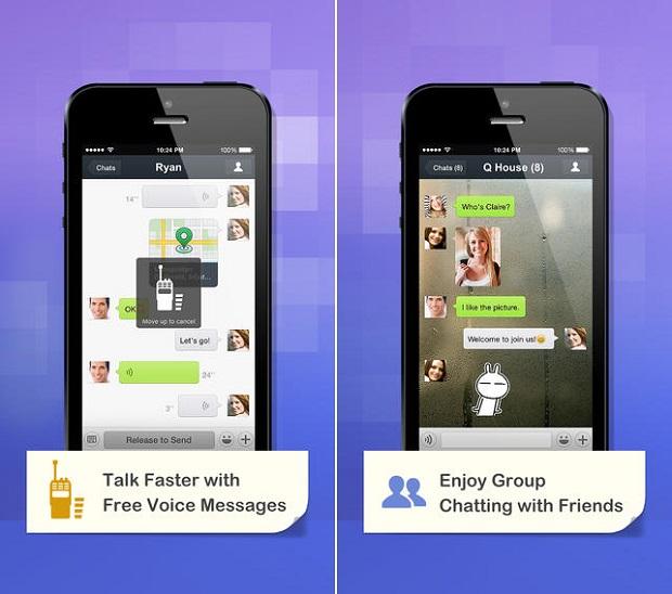 WeChat iPhone