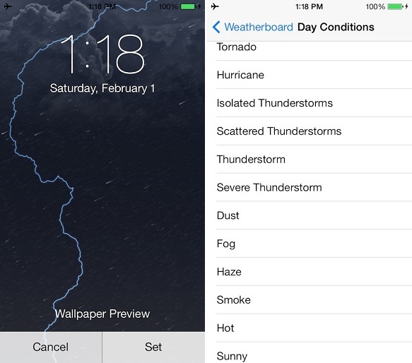 weatherboard tweak