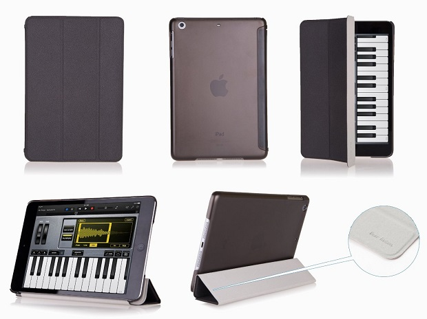 Bear Motion for iPad Mini - Premium Folio Case with Stand