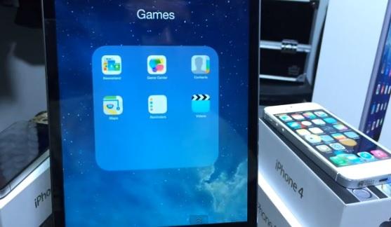 iOS 7.1 glitch stock apps