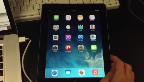 triple boot iOS 7 iPad