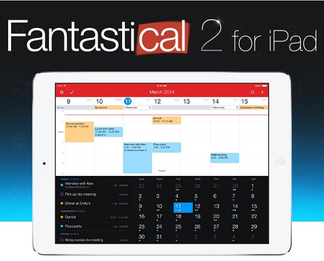 Fantasical 2 for iPad main