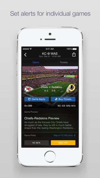Yahoo Sports iPhone