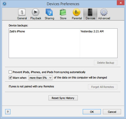 iTunes backup delete (2)