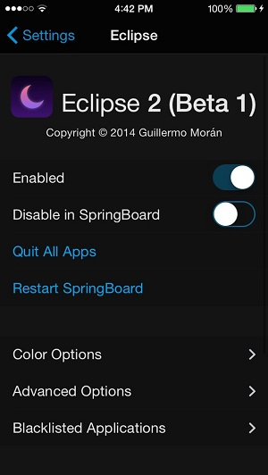 Eclipse 2 beta 1