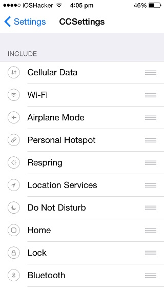 CCSettings for iOS 8  (1)