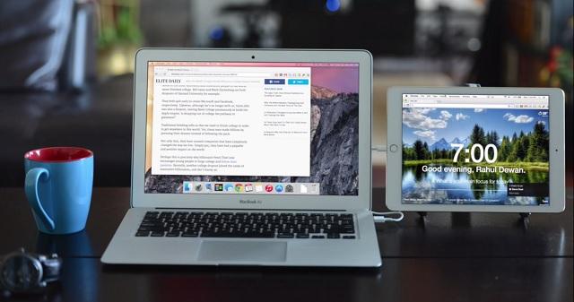Duet Display app Mac