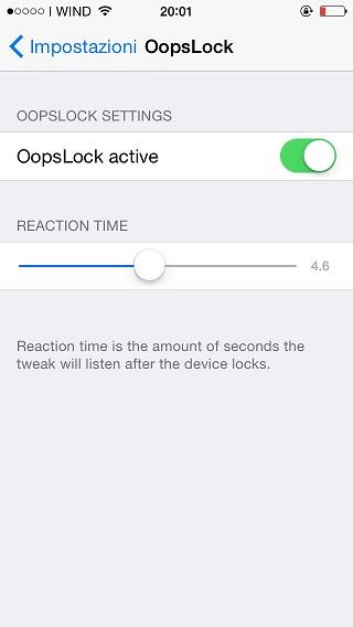 OopsLock tweak