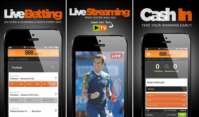 888sport app for iPhone and iPad makes betting quick and easy on the