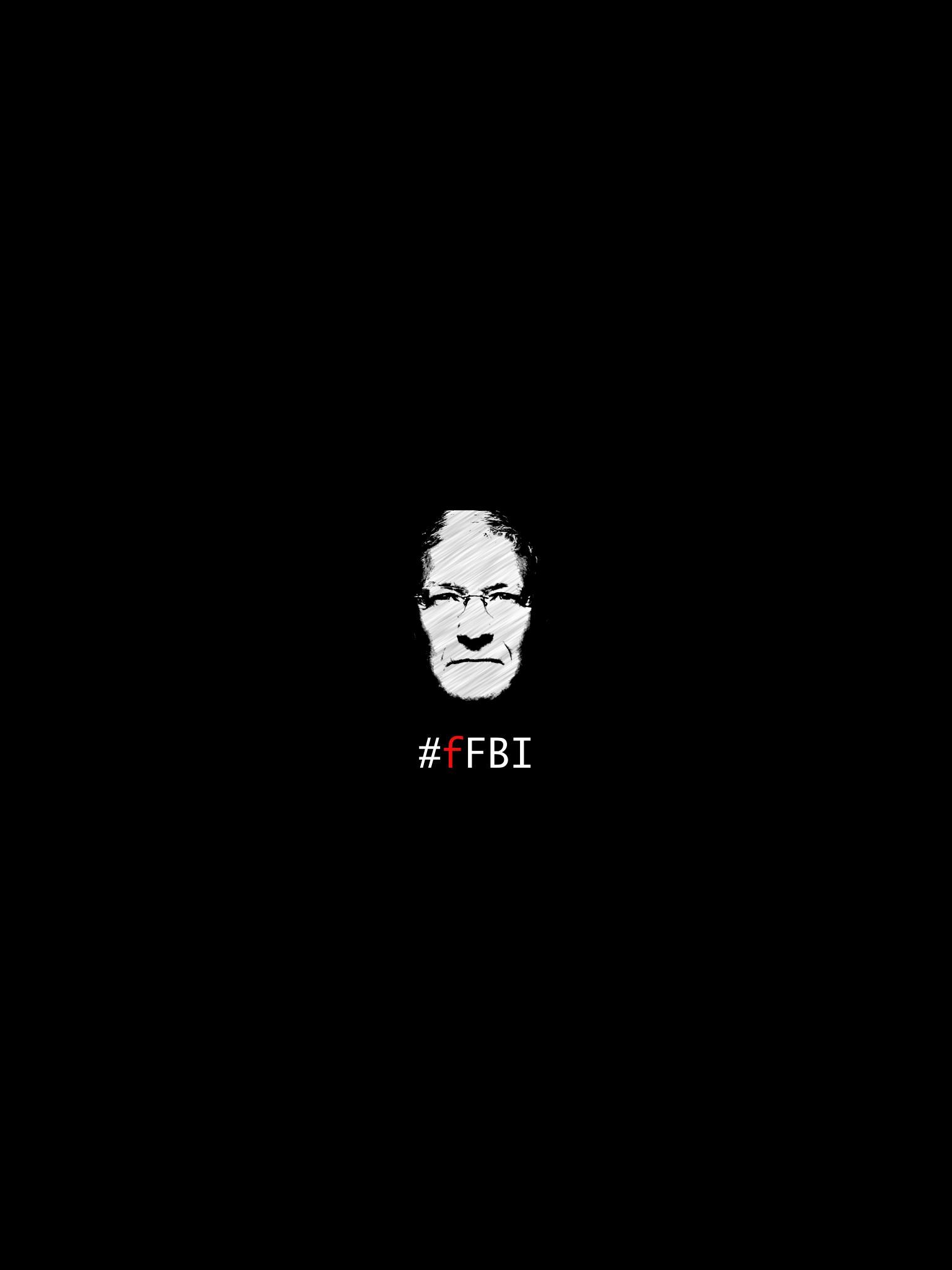 F FBI Apple iPad wallpaper 1