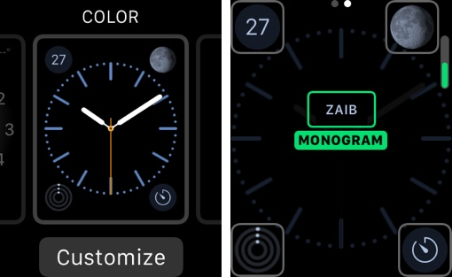 How To Add Your Name Or Any Other Monogram To Apple Watch Face Ios Hacker