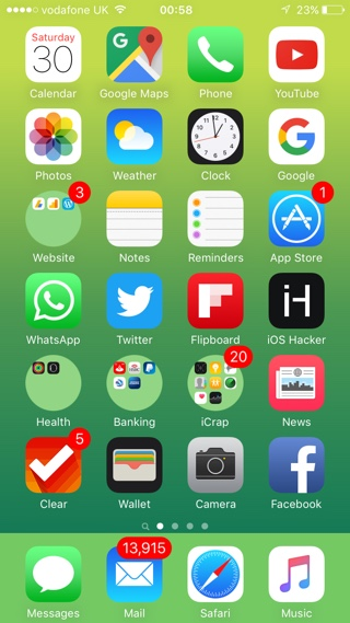 How to Get Circular Folder Icons on iOS Without Jailbreak - iOS Hacker