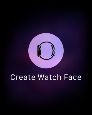 Create Watch Face