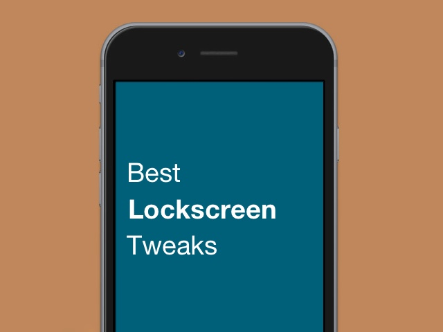 Lockscreen tweaks