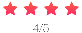 Review stars 4