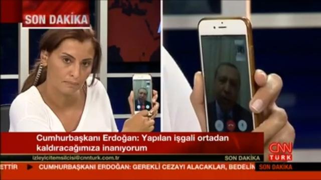 Turkey Facetime Erdogan