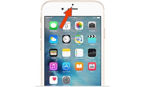 iPhone proximity sensor