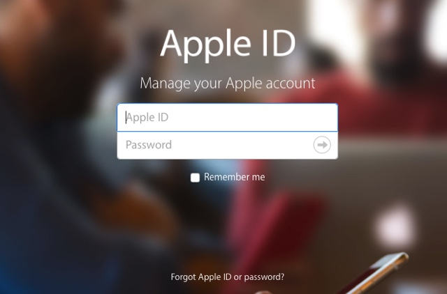 Change Apple ID Password