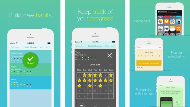 Habit Tracking Apps