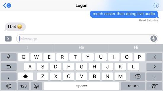 How To Switch To Landscape Keyboard In Imessage For Good Ios Hacker