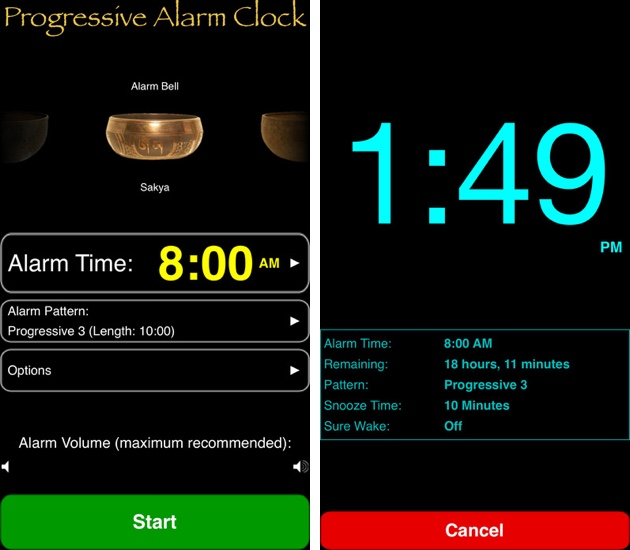 Progressive Alarm Clock Wakes You With Fade In Sound, Offers Custom