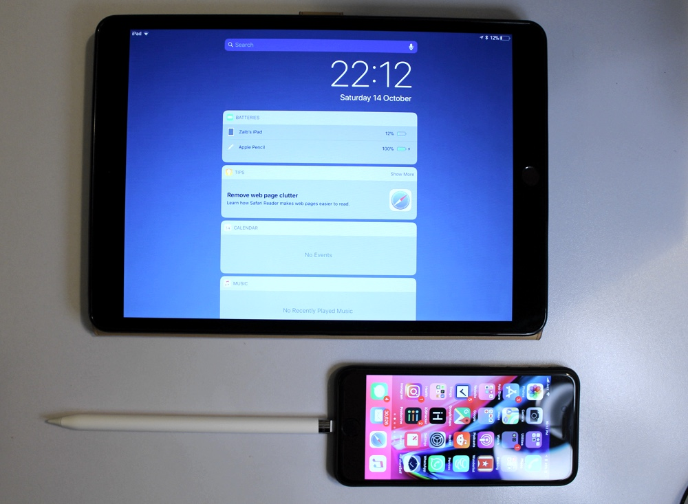 you can charge your apple pencil with iphone ios hacker