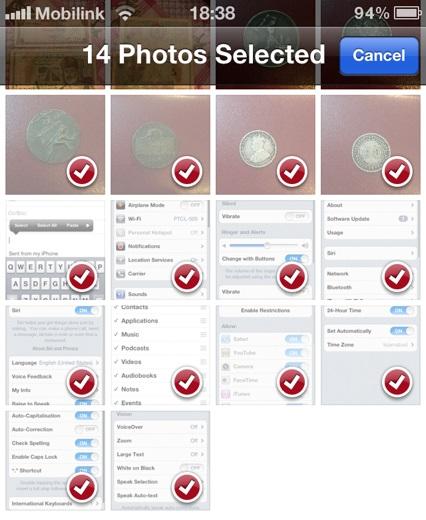 e-postbegränsning iOSHacker 1