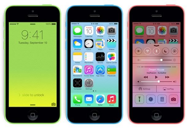 iphone 5c iOS7