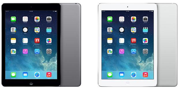 iPad Air colors