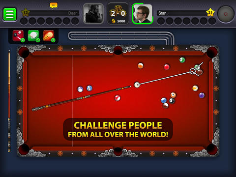 8 ball pool iPad