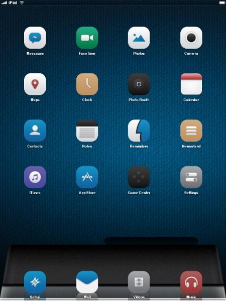 DNA Theme iPad