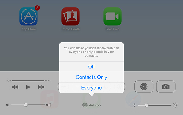 How to enable AirDrop on older iOS devices