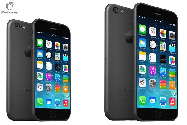 iPhone 6 renders 1