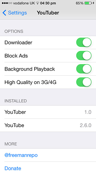 YouTuber tweak adds download feature to YouTube app for free