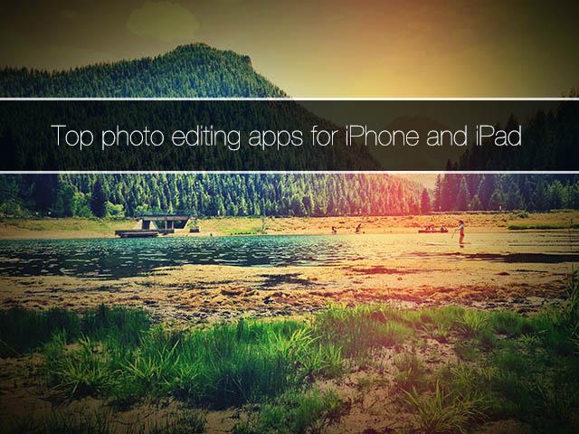 Photo editing apps iOSHacker