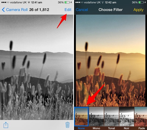 How to remove filters from photos on your iPhone or iPad