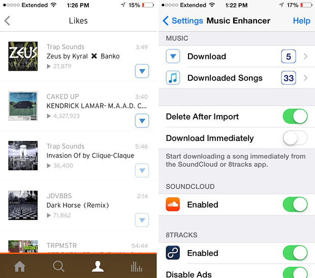 how to download songs in iphone 4 for free