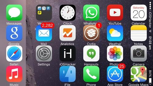 iPhone 5s rotate IconRotator